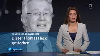 Dieter Thomas Heck Tv Berichte Zum Tod German Tv 25 08 2018 Youtube