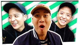 Shooting Games with Amber Liu | Behind the Party