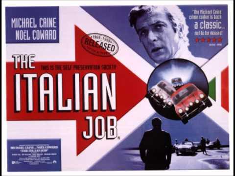 Italian Job theme with lyrics