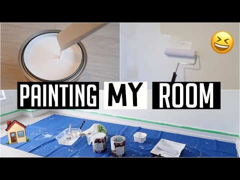 PAINTING MY NEW ROOM!