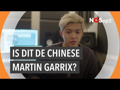 Robin van 23 scout Chinese dj-talenten in Shanghai | NOS op 3