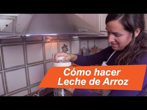 Leche de Arroz, como hacerla/ How to make rice milk