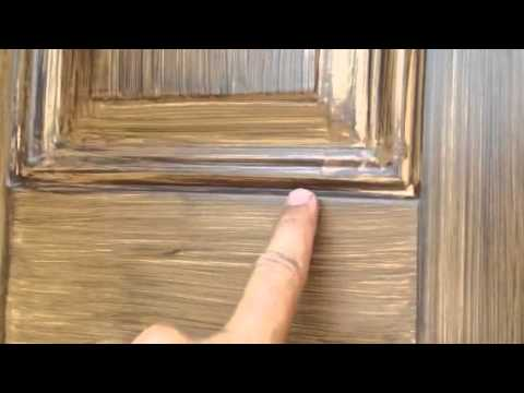 Faux Glaze Exterior Door Perfection