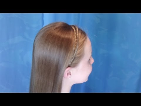 Fishtail Braid Headband Hairstyle, Dancing With The Stars