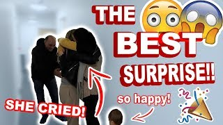 THE BEST SURPRISE FOR NICOLE! 6 MONTHS OF PLANNING!! *SHE CRIED*