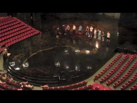 BACKSTAGE Cirque Tour at La Nouba in Downtown Disney