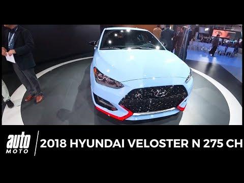 2018 Hyundai Veloster N 275 ch Revue de détail Auto-Moto.com