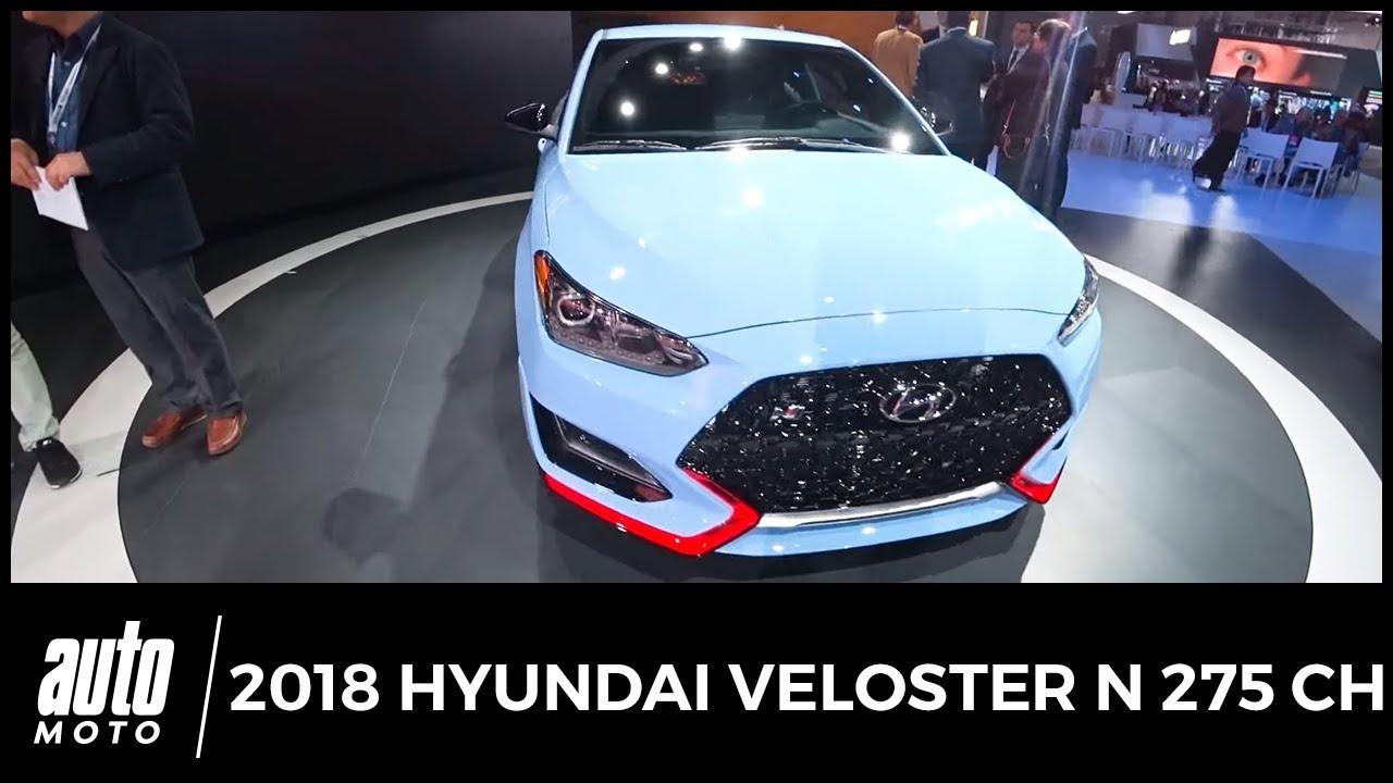 2018 Hyundai Veloster N 275 ch Revue de détail Auto-Moto com