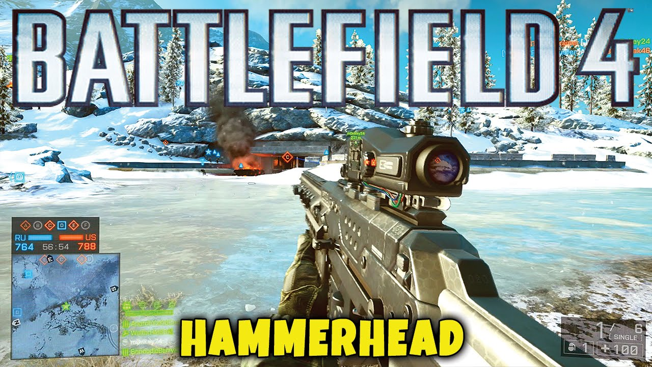 Battlefield 4 - Hammerhead Map & RORSCH MK-1 Railgun Gameplay - BF4 Final  Stand DLC