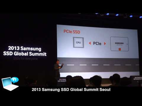 Samsung SSD Summit 2013 Seoul - NAND Flash growth, PCIe, NVMe (SATA Express), XP941