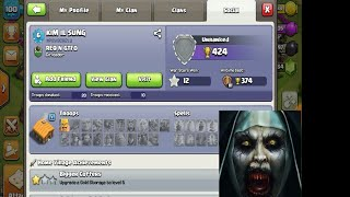 Ghost village!Clash of clans!clash boom