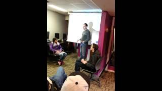 "Hi.Tech.Teens.Raleigh Class 5 Lightning Talk on ""Conditionals"" in Computer Science"