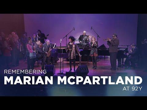 Remembering Marian McPartland at 92Y