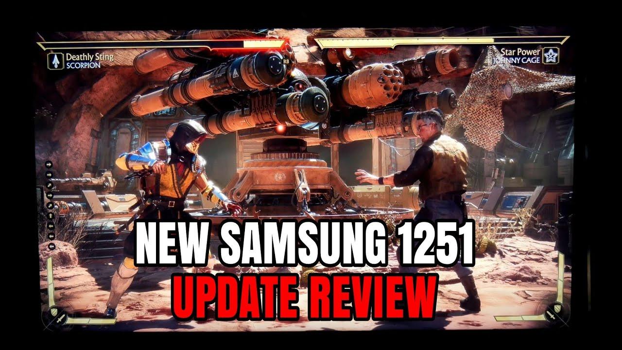 samsung tv firmware update 1251