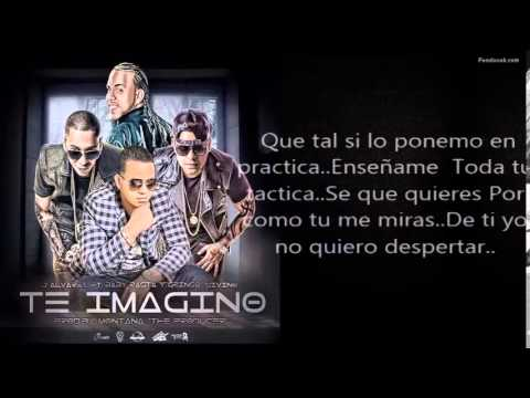 (Letra) Te Imagino - J alvarez ft Baby Rasta y Gringo Y Divino (Letra)