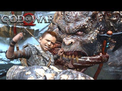 GOD OF WAR - #5: OGRO KONG! (Gameplay em 4K do PS4 Pro)