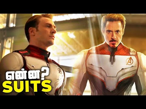 Avengers 4 Endgame WHITE SUITS in Trailer 2 Explained (தமிழ்)