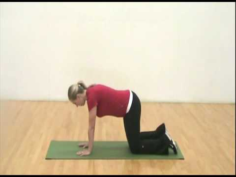 Pregnancy Exercise How To: Dromedary Droop