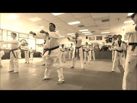 TaeKwonDo Jump Kicks Forms Breaking Sparring Training at Lima Academy Los Angeles