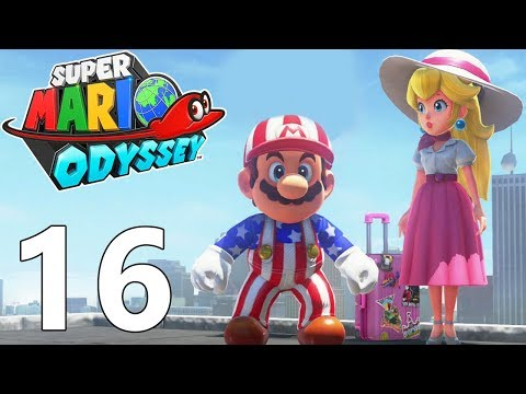 SUPER MARIO ODYSSEY FR #16 New Donk City