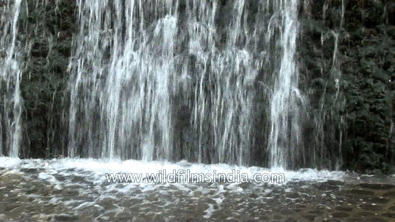 Artificial Waterfall At Rock Garden, Chandigarh   YouTube