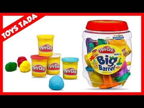 unboxing of play-doh big barrel playset from toys r us - youtube
