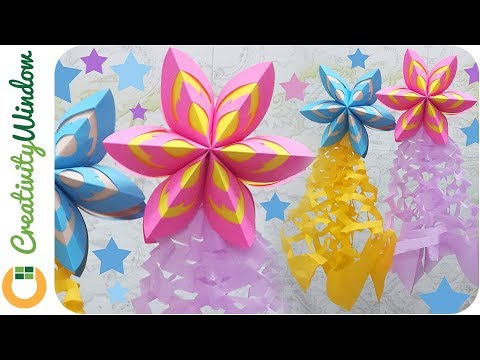 last minute christmas decoration idea paper parol