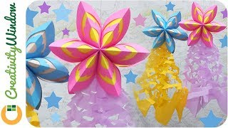 Last Minute Christmas Decoration Idea: Paper Parol