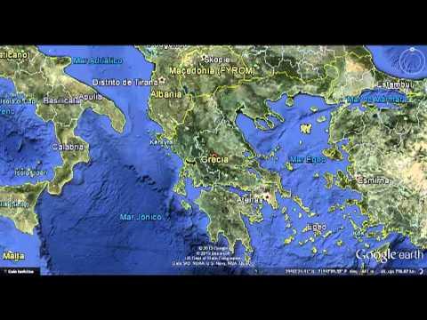 Grecia Ubicacion Geografica