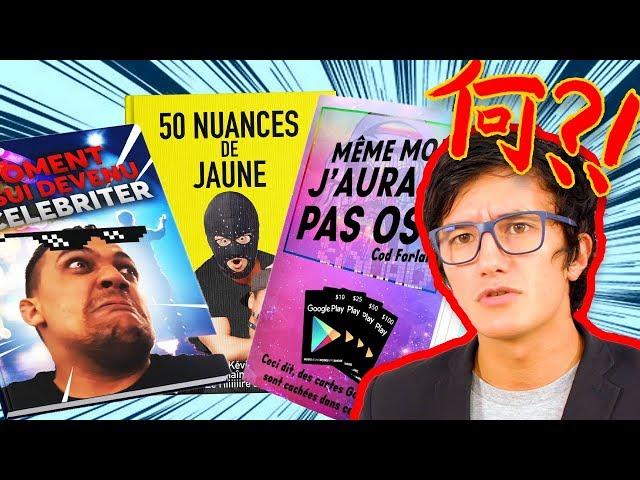 Chaine secondaire de jigme les prochains livres de youtubers 📚📺-mdr 103