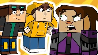 Repeat youtube video Minecraft Story Mode 6 (Funny Animation)