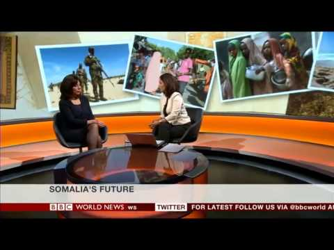 Speaking on BBC TV about the Somalia Conference