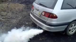 Toyota Caldina 7A-FE ,запуск после раскоксовки Лавром