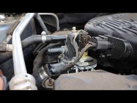 2001-2006 Chrysler Sebring Coolant outlet housing D.I.Y. 2.7 liter V6