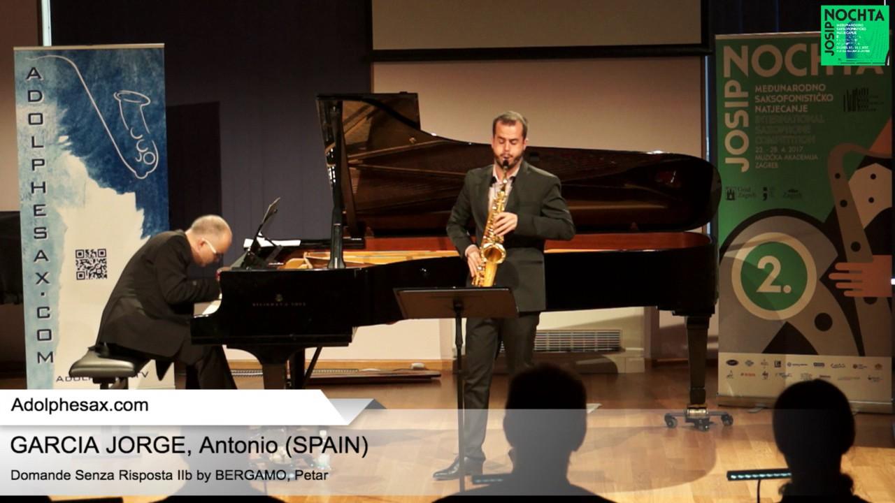 Domande senza risposta IIb Petar Bergamo   GARCIA JORGE, Antonio Spain