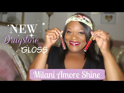 New Drugstore Lip Gloss -Milani Amore Shine