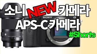 소니 카메라 APS-C 센서 5월 출시, 시…