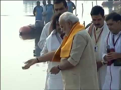 PM Modi performs Ganga Aarti at Assi Ghat, Varanasi