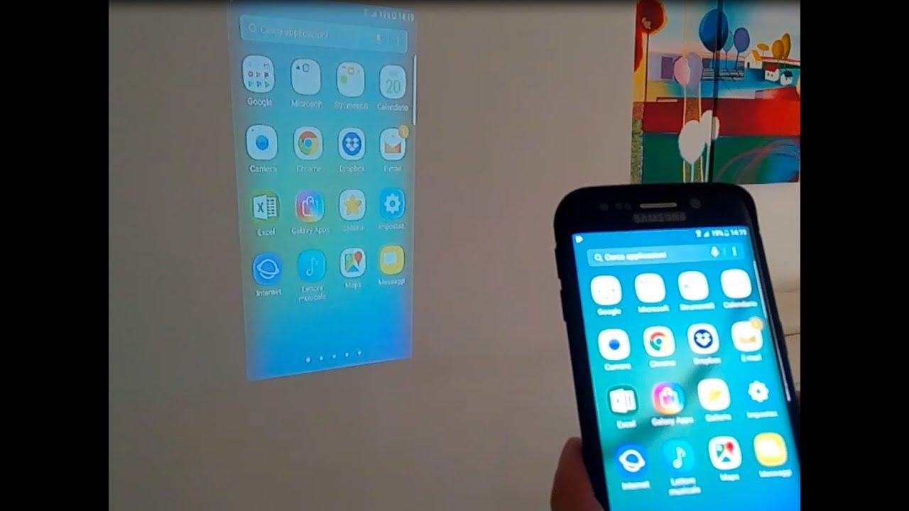 Collegare iPhone al proiettore