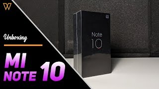 Unboxing Mi Note 10