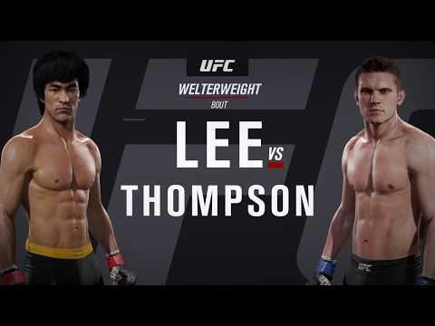 UFC Dream Match - Bruce Lee VS Stephen Thompson