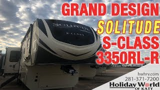 Take a look at the 2019 GRAND DESIGN SOLITUDE S-CLASS 3350RL-R
