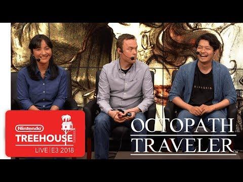 Octopath Traveler Gameplay - Nintendo Treehouse: Live | E3 2018