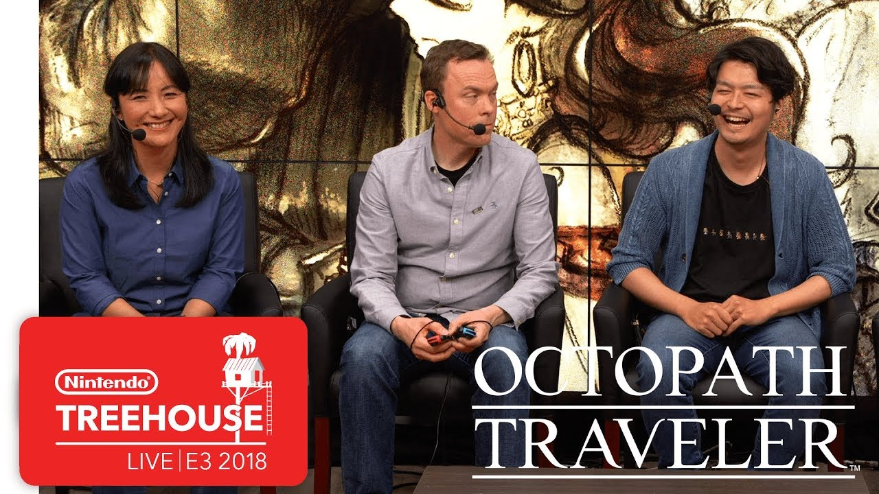 Octopath Traveler Gameplay Pt. 1 - Nintendo Treehouse: Live | E3 2018