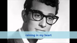 Raining In My Heart: Buddy Holly lyrics