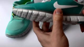 Видео обзор кроссовок Nike Free 3.0 и Nike Free 5.0  (2014 года)