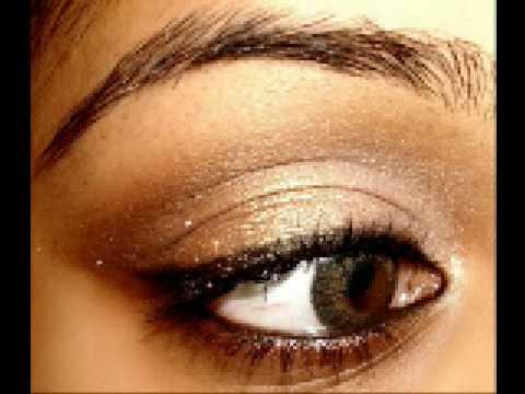 Larger Brighter Eyes Neutral Eye Makeup - YouTube