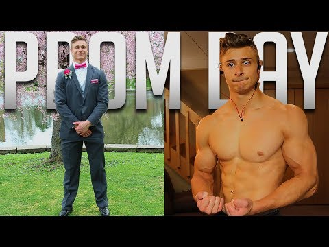 PROM DAY Workout | Baseball Playoffs | Back And Biceps