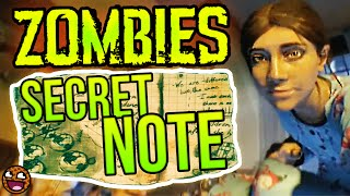 SHADOWS OF EVIL: DR MAXIS EASTER EGG DIARY NOTE! ORIGINS ENDING LINK? (Black Ops 3 Zombies Story)