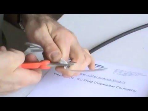 Kit Terminazione Fibra Ottica: Realizzare connettori in fibra ottica in meno di 2 minuti.